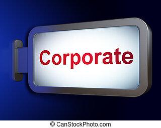 tabellone, concept:, finanza corporativa, fondo