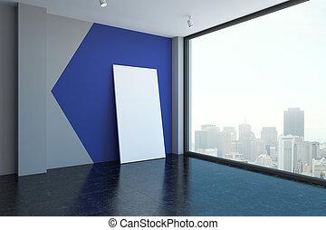 tabellone, stanza moderna