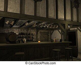 taberna, medieval