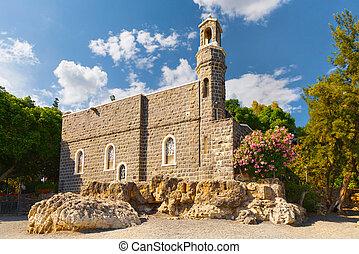 tabgha., -, 首位, 教会