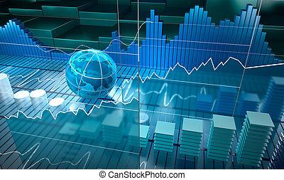 tabla, acción, resumen, plano de fondo, intercambio