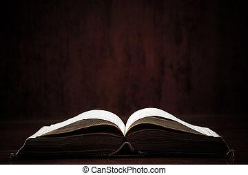 tabla, biblia, santo