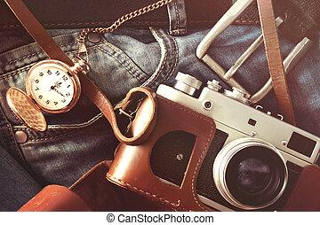 tabla, cámara