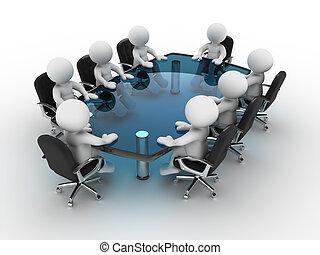 tabla, conferencia