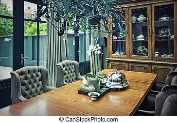 tabla de cena