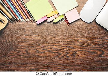 tabla de madera, suministros