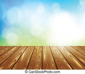 tabla de madera