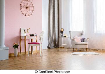 tabla, habitación, aliño