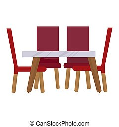 tabla, icono, cenar