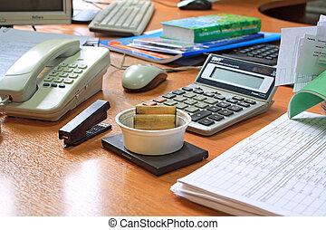 tabla, oficina