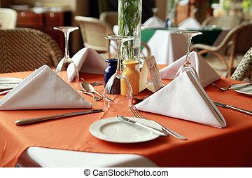 tabla, restaurante