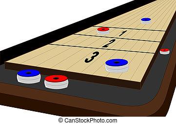 tabla, shuffleboard
