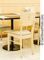 tabla, silla
