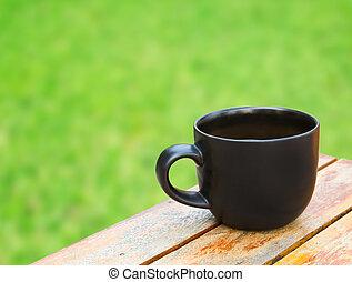 tabla, taza para café