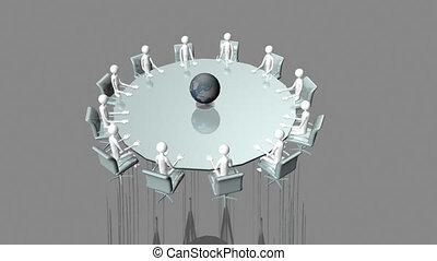 table, 3d-men, séance