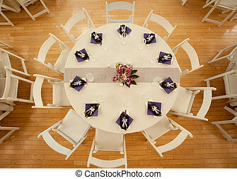 Table at Reception