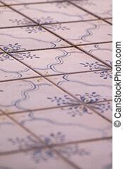 table, azulejo