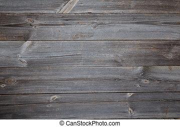 table bois, fond, vue dessus