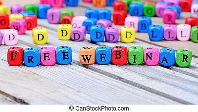 table bois, mots, webinar, gratuite