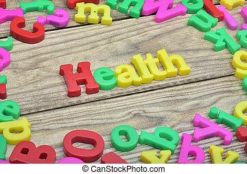 table bois, santé