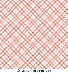 table, checkered, fond, tissu