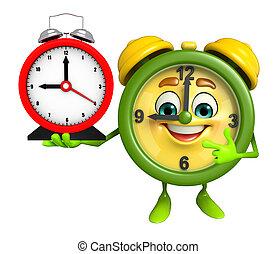 table clock Character - Cartoon Character of table clock