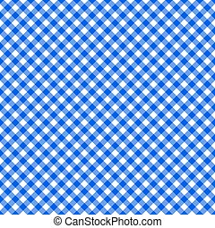 Table cloth seamless pattern blue