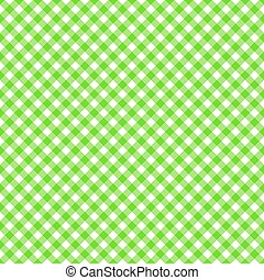Table cloth seamless pattern green