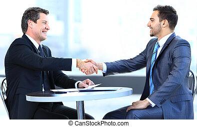 table, Collègues,  Business, séance