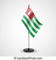 Table flag of Abkhazia