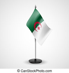 Table flag of Algeria
