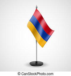 Table flag of Armenia