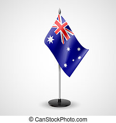 Table flag of Australia