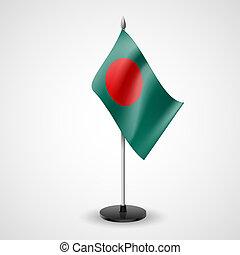 Table flag of Bangladesh