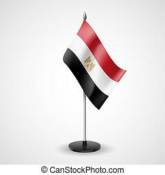 Table flag of Egypt
