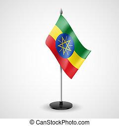 Table flag of Ethiopia