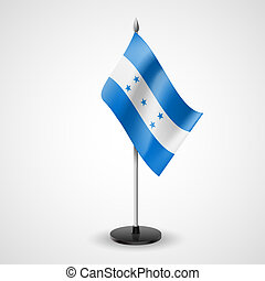 Table flag of Honduras