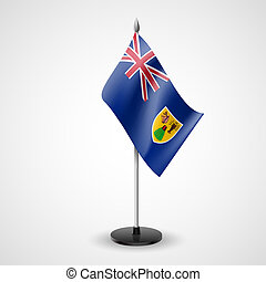 Table flag of the Turks and Caicos Islands - State table...