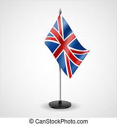 Table flag of United Kingdom