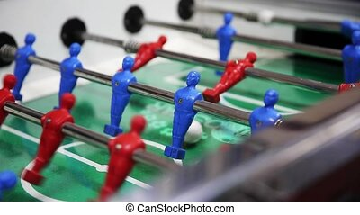 table football, soccer table game