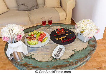 Table for birthday