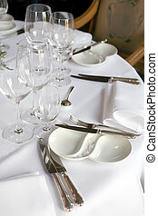 table for party - white table for luxury party