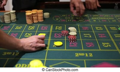 table game in a casino