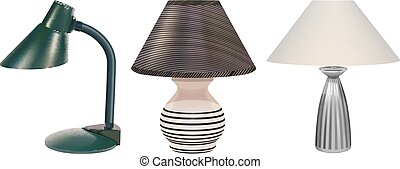 table lamps set
