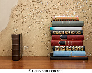table, livres