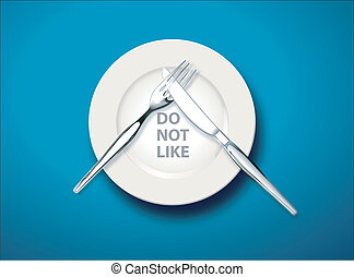 Table manners, Do not like