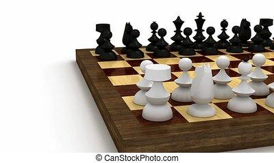 table, morceaux échecs