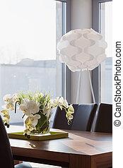 table, orchidée