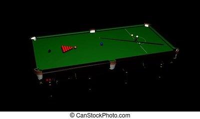 table, piscine