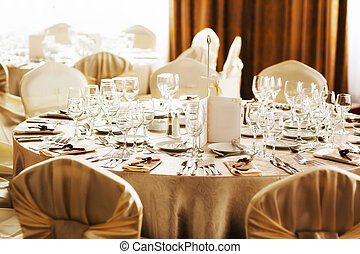 Table set for a special occasion